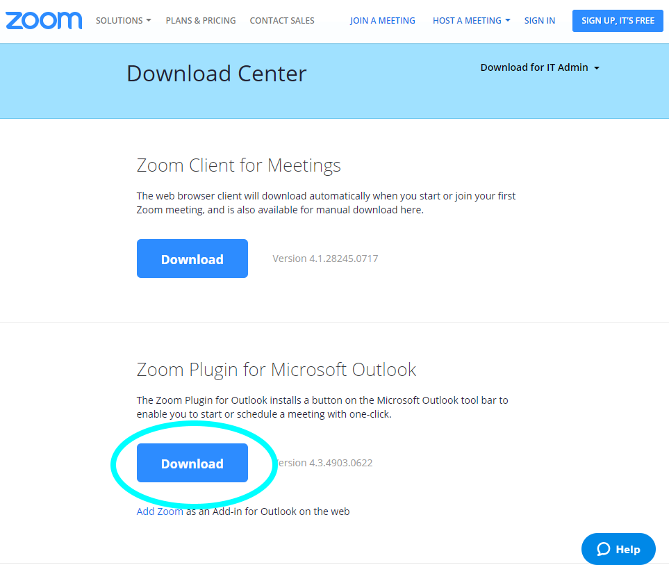 download zoom for pc