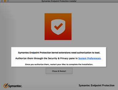 Symantec endpoint protection for mac sierra vista