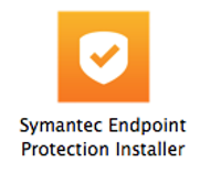 Right-click the Symantec Endpoint Protection Installer icon.